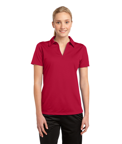 LST690 Sport-Tek® Ladies PosiCharge® Active Textured Polo