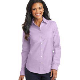 L658 Port Authority® Ladies SuperPro™ Oxford Shirt