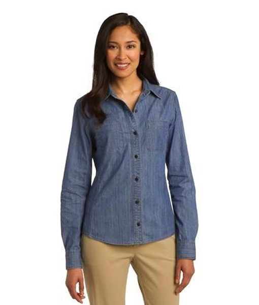L652 Port Authority® Ladies Patch Pockets