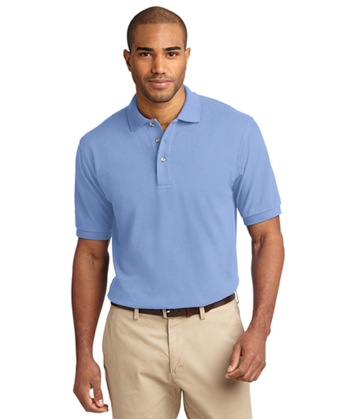 K420 Port Authority® Heavyweight Cotton Pique Polo