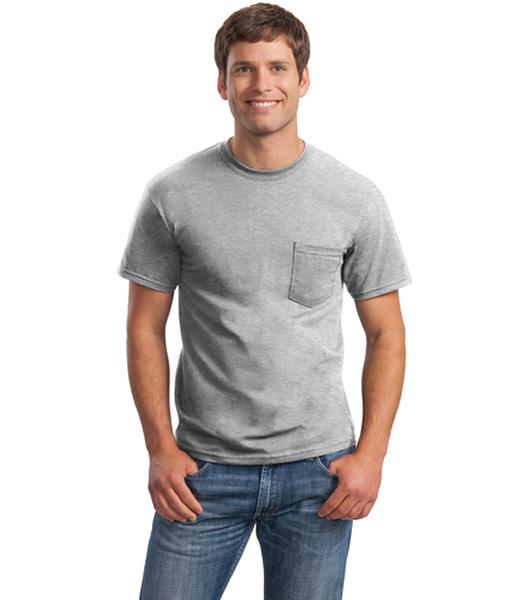 2300 Gildan® - Ultra Cotton® 100% Cotton T-Shirt with Pocket