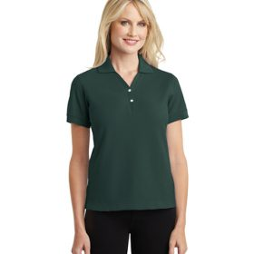 L448 Port Authority® Ladies 100% Pima Cotton Polo