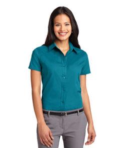 L508 Port Authority® Ladies Short Sleeve Easy Care Shirt