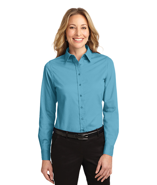 L608 Port Authority® Ladies Long Sleeve Easy Care Shirt