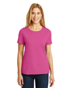SL04 Hanes® - Ladies Nano-T Cotton T-Shirt