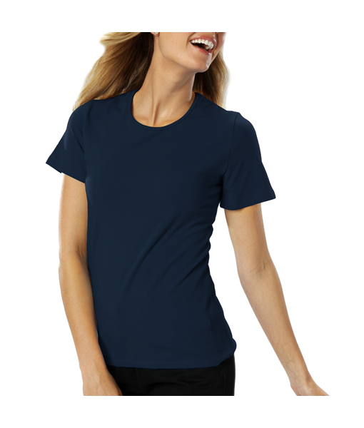 BG-4702 Ladies Short Sleeve Jewel Neck
