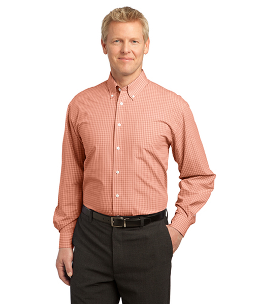 S639 Port Authority® Plaid Pattern Easy Care Shirt