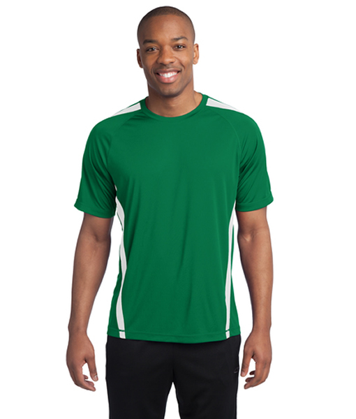 ST351 Sport-Tek® Colorblock PosiCharge® Competitor™ Tee