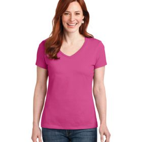S04V Hanes® Ladies Nano-T® Cotton