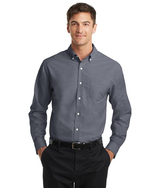 S658 Port Authority® SuperPro™ Oxford Shirt