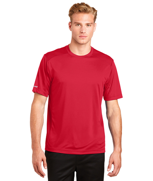 St380 Sport Tek Posicharge Elevate Tee Posicharge technology helps colors and logos stay vibrant longer. orleans embroidery