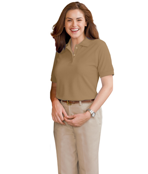 BG6500 – Ladies' Value Soft Touch Pique Polo