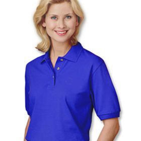 Egyptian Cotton Pique Polo Shirt Louisiana