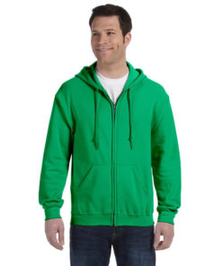 G186 Gildan Adult Heavy Blend™ 8 oz., 50/50 Full-Zip Hood