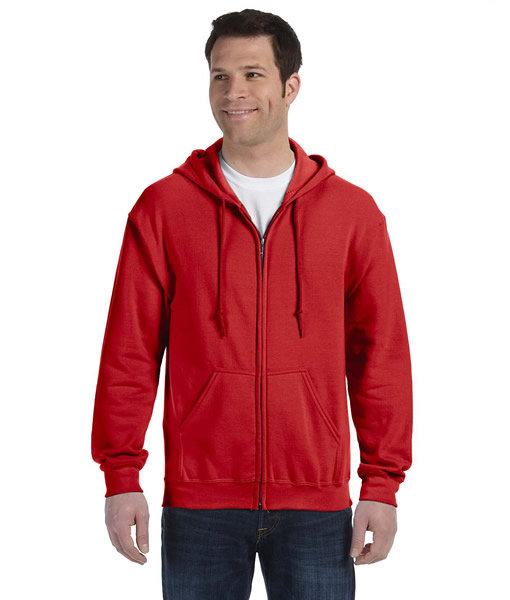 G186 Gildan Adult Heavy Blend™ 8 oz., 50/50 Full-Zip Hood