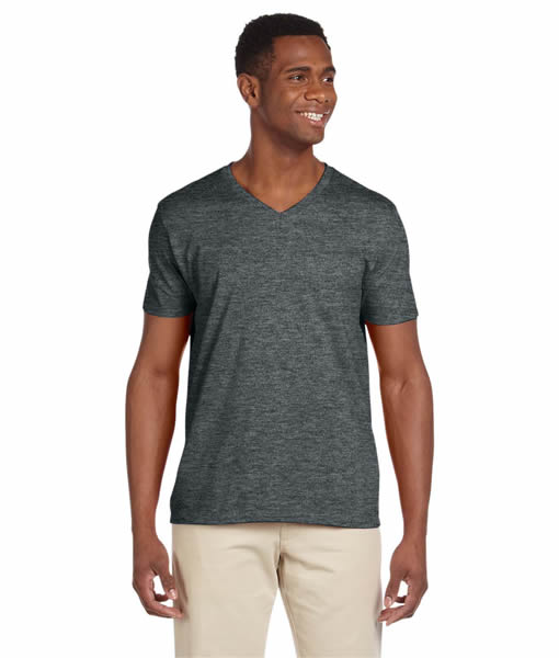G64V Gildan Adult Softstyle® 4.5 oz. V-Neck T-Shirt