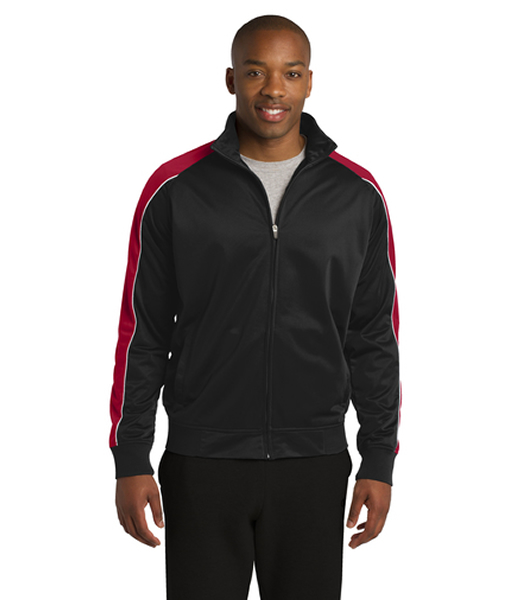 JST92 Sport-Tek® Piped Tricot Track Jacket