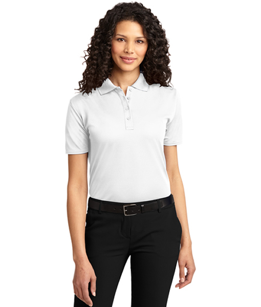 L525 Port Authority® Ladies Dry Zone® Ottoman Polo