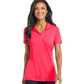 L568 Port Authority® Ladies Cotton Touch™ Performance Polo