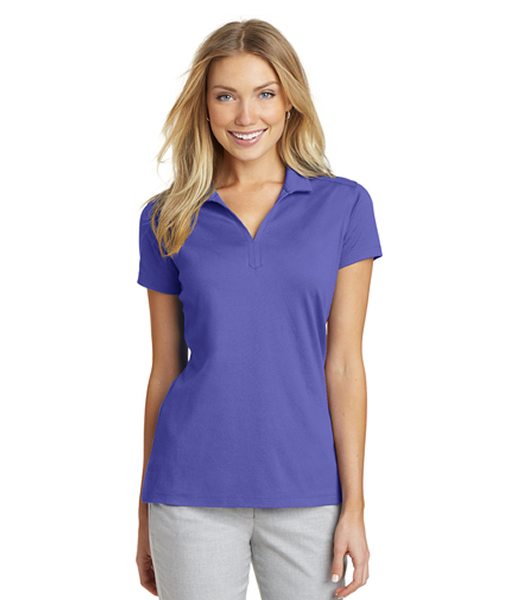 L573 Port Authority® Ladies Rapid Dry™ Mesh Polo