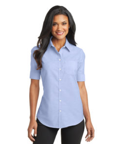 L659 Port Authority® Ladies Short Sleeve SuperPro™