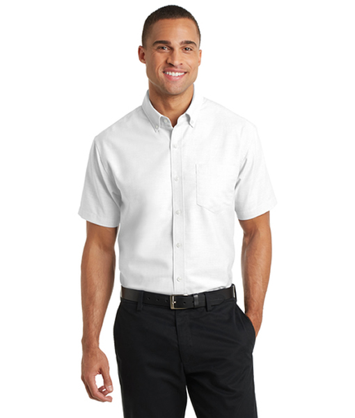 S659 Port Authority® Short Sleeve SuperPro™ Oxford Shirt