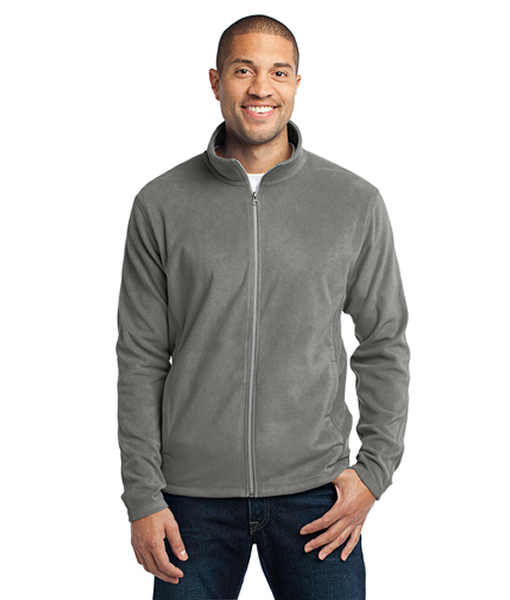 this lightweight microfleece jacket delivers warmth without unnecessary bulk.