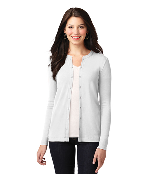 LM1008 Port Authority® Ladies Concept Stretch Button-Front Cardigan