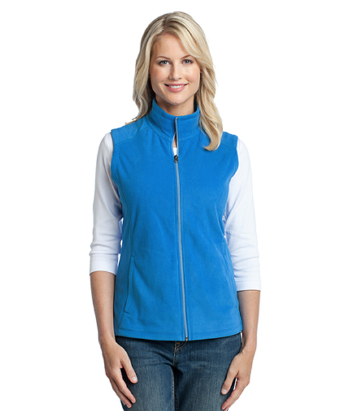 L226 Port Authority® Ladies Microfleece Vest