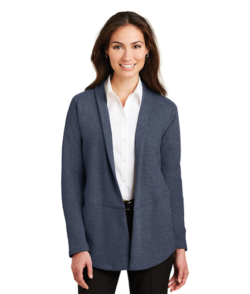 L807 Port Authority® Ladies Interlock Cardigan