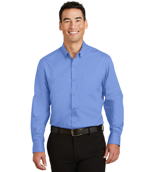 S663 Port Authority® SuperPro™ Twill Shirt