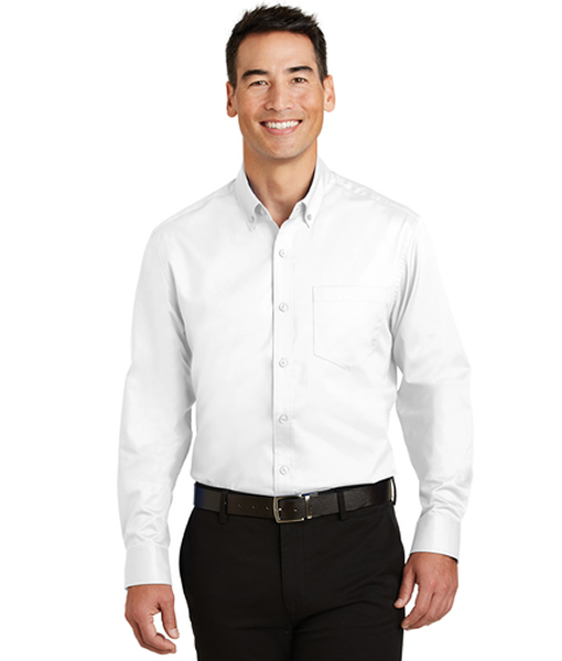 S663 Port Authority® SuperPro™ Twill Shirt