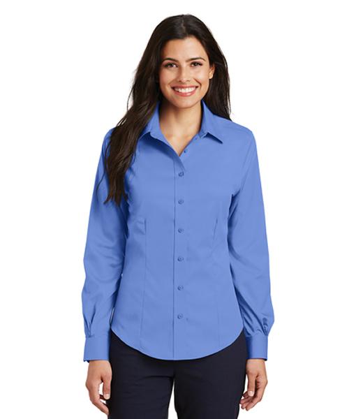 L638 Port Authority® Ladies Non-Iron Twill Shirt